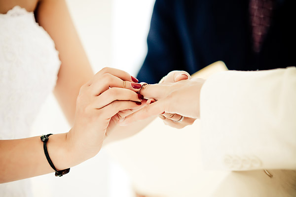 ring exchange paradisus punta cana beach ceremony