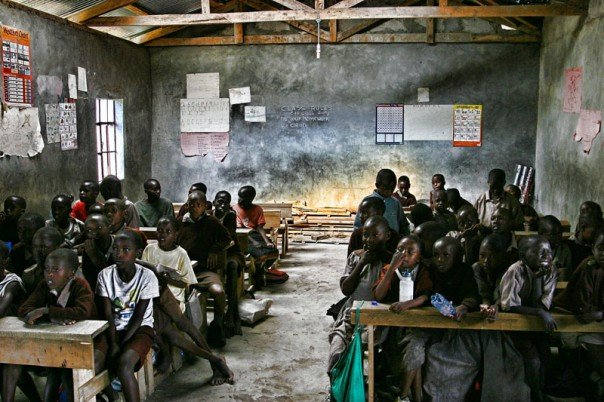 Some schools in rural Kenya