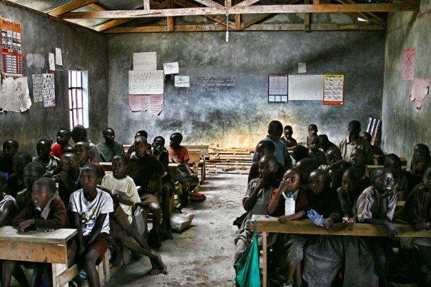 Some schools in rural Kenya