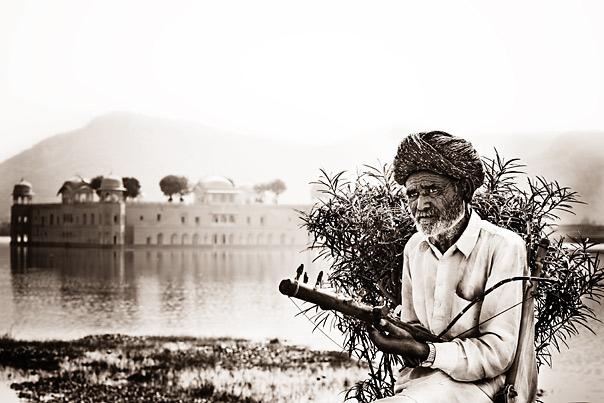Portrait in India