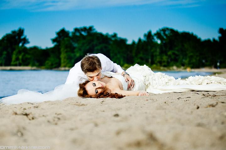 beach wedding toronto