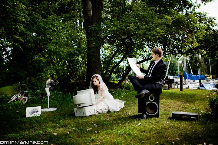 fun wedding photography session in Toronto