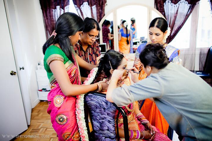 Shrilankan wedding party