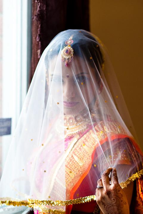 Toront Indian Wedding veil