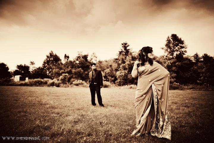 Toronto Indian Wedding Sari