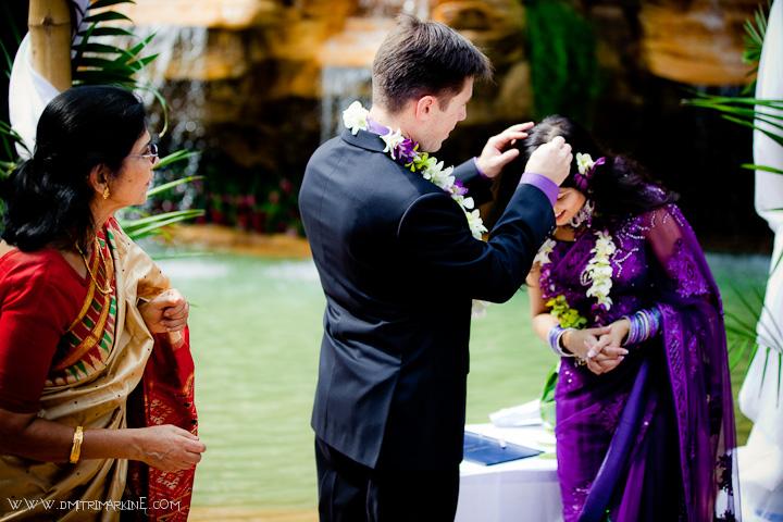 Religious Indian wedding ceremony Costa Rica at Springs Resort