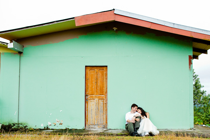 Wedding in beautiful Springs resort near volcano