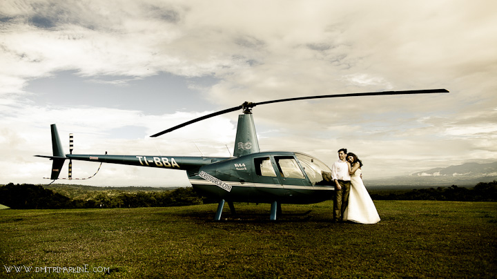 Costa Rica Volcano Wedding
