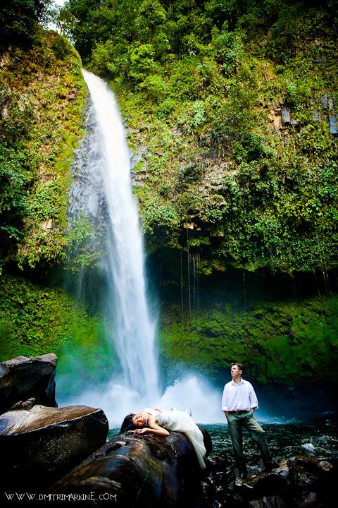 Waterfall Wedding Costa Rica