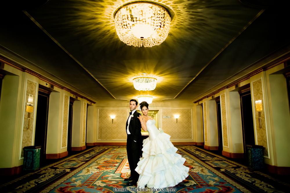 toronto wedding  fairmoun royal york hotel