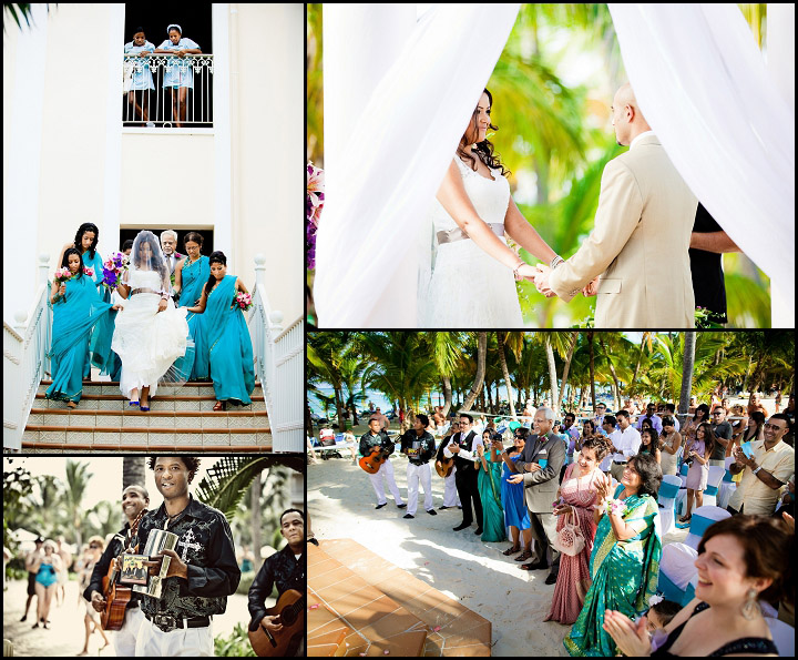 Riu Palace Punta Cana Wedding ceremony