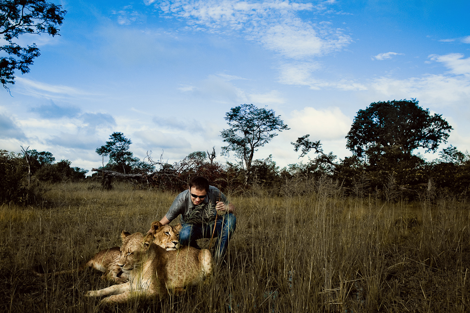 Dmitri Markine with Lions!