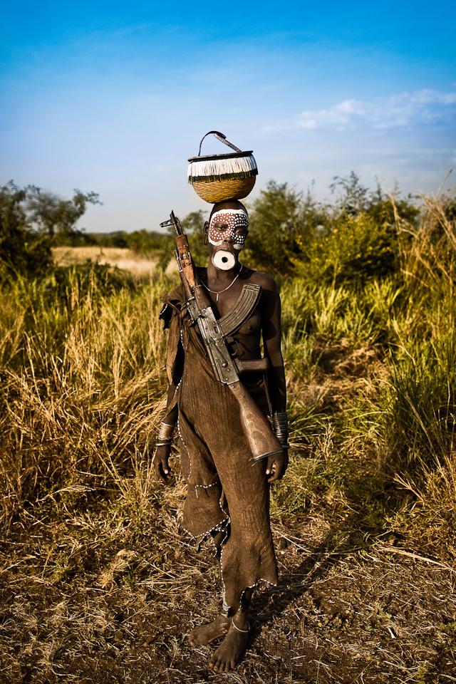 Suri-Tribe-Ethiopia:  Suri Tribes