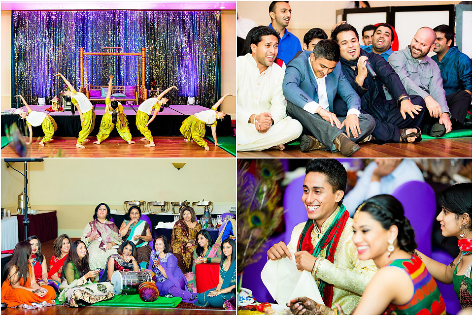 Mendhi Bombay Wedding Hall party 30329