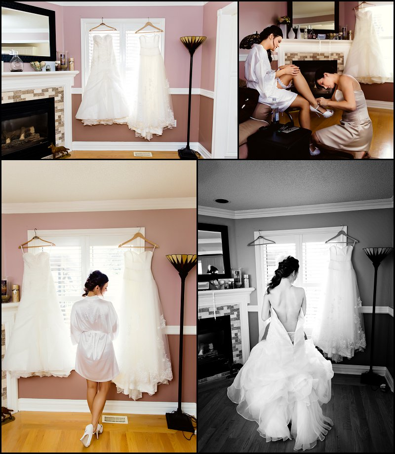 Getting Ready Bride