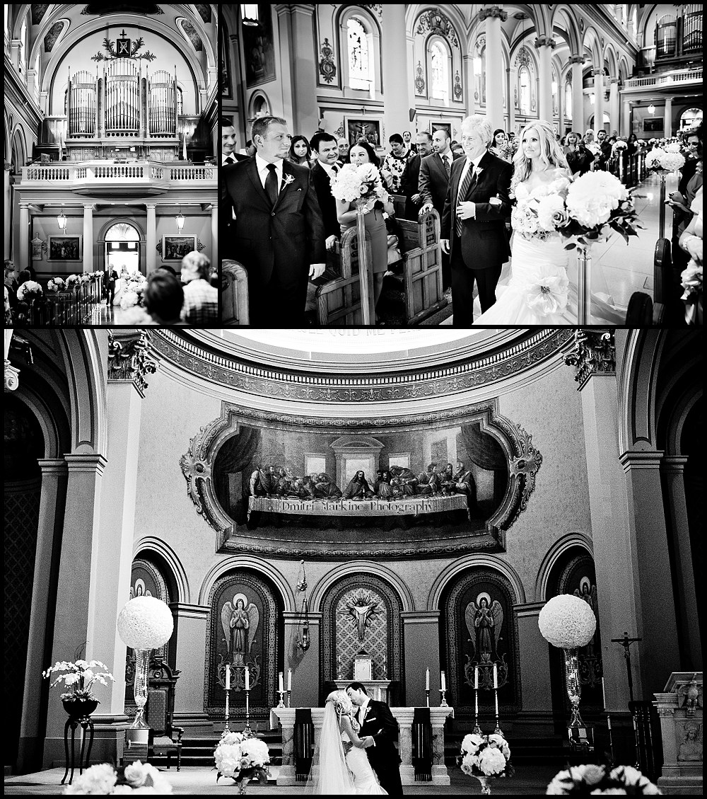 St Paul Basilica Cathedral Wedding