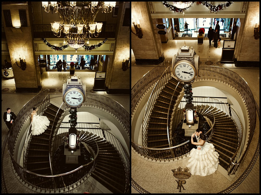 Royal York hotel wedding - Fairmont