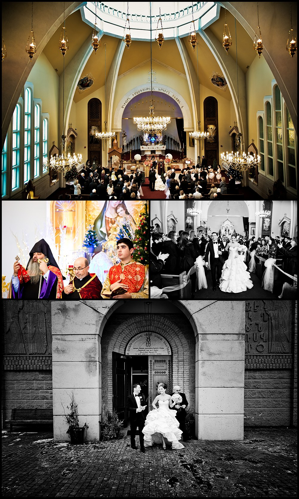 St Marry's Armenian church wedding Toronto