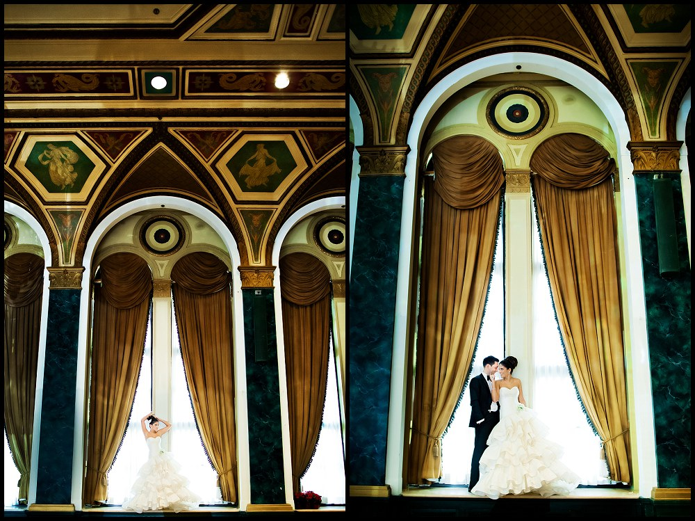 Royal York hotel wedding reception Toronto