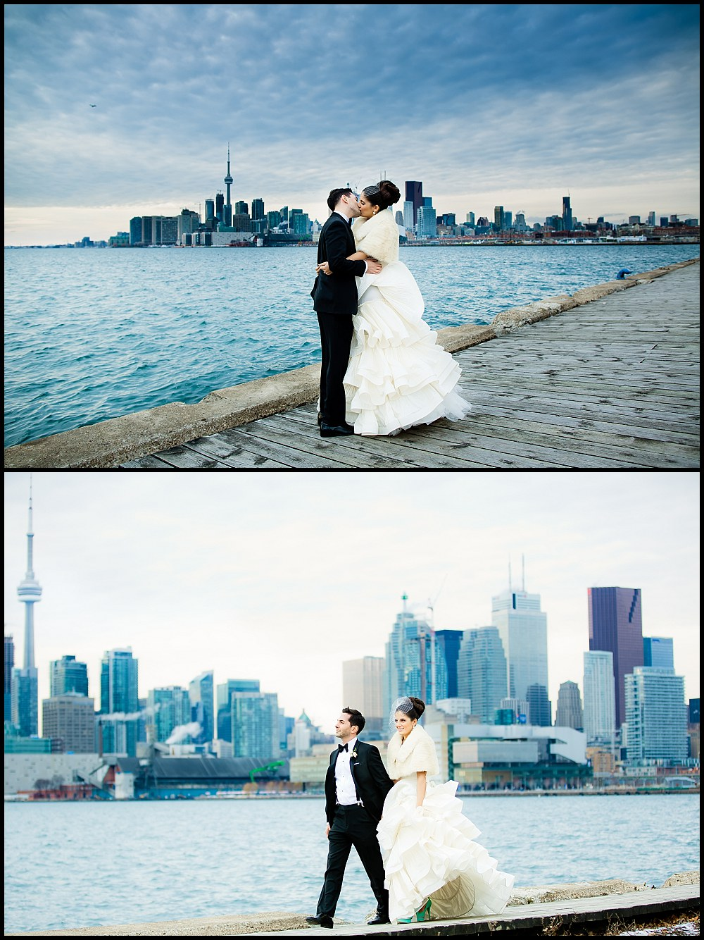 Toronto winter wedding photos