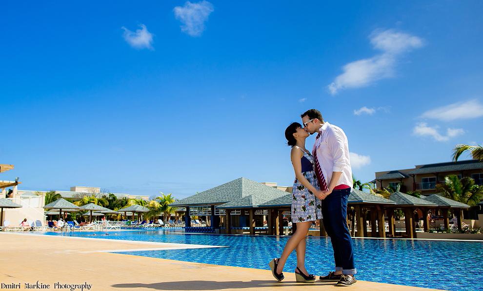 Melia Jardines Del Rey resort destination wedding