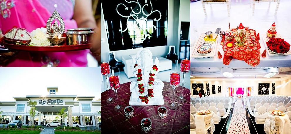 Indian wedding reception venues in Toronto, Canada
