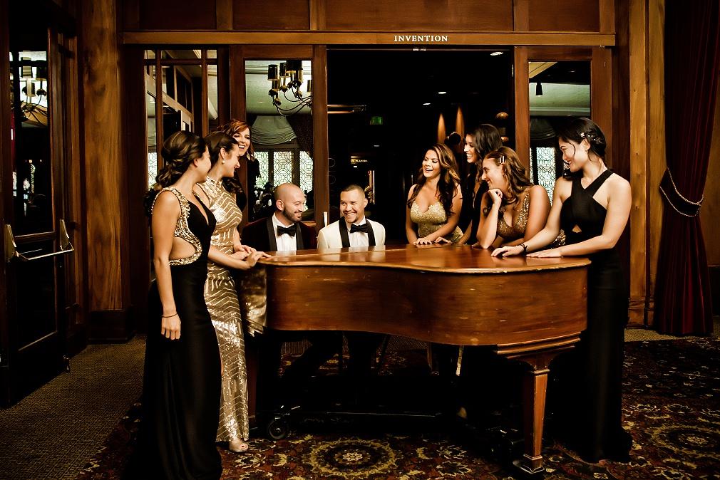LA Athletic Club wedding Los Angeles