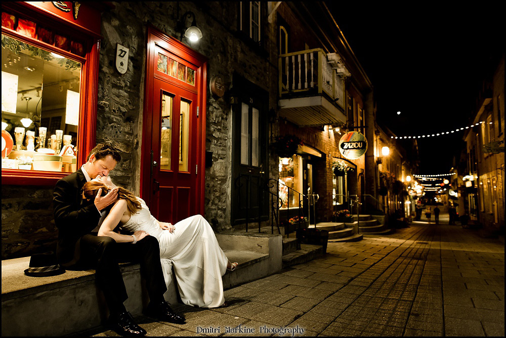 Old Quebec wedding