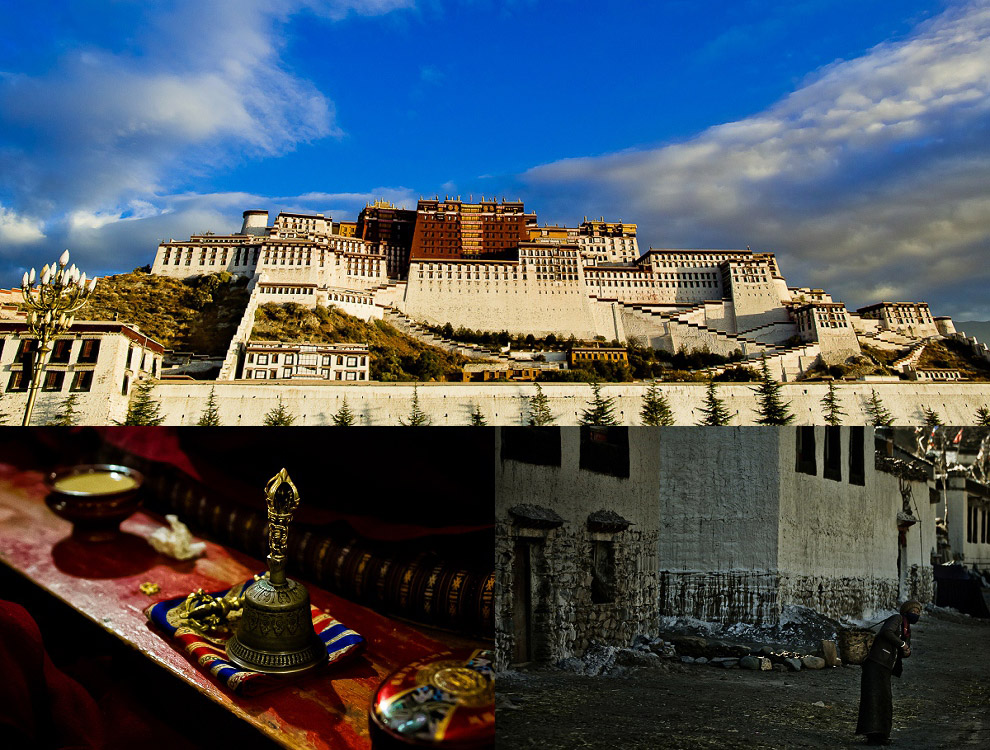 Potala Palace holy sites in Lhasa