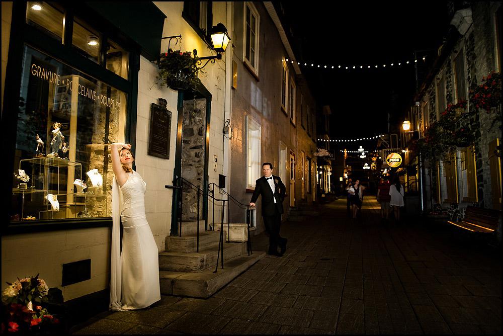 Quartier Petit Champlain weddings