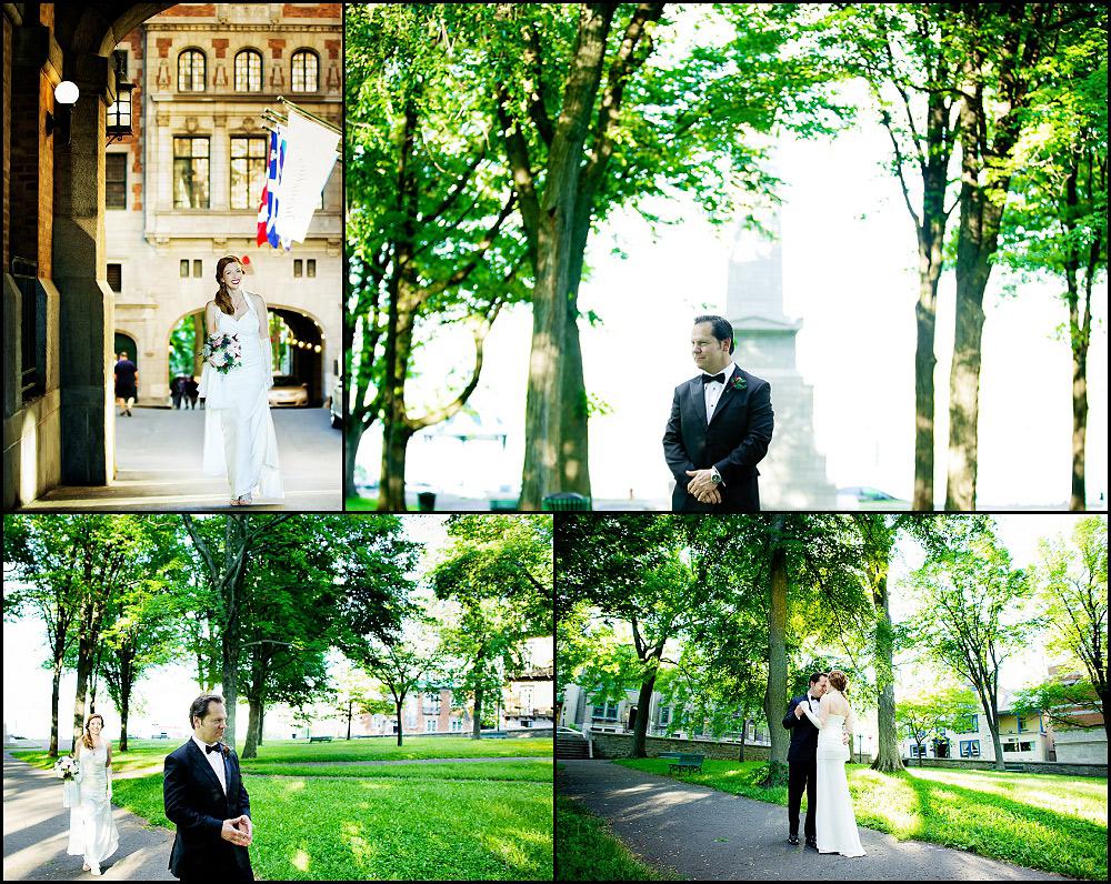 Fairmont Le Chateau Frontenac wedding Quebec city