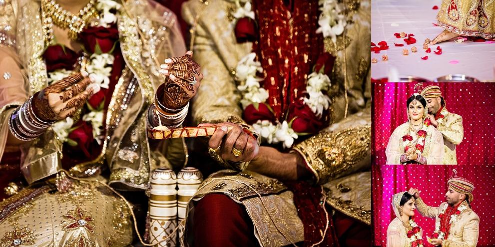 Religious sikh wedding ceremony Apollo Wedding Hall Canada