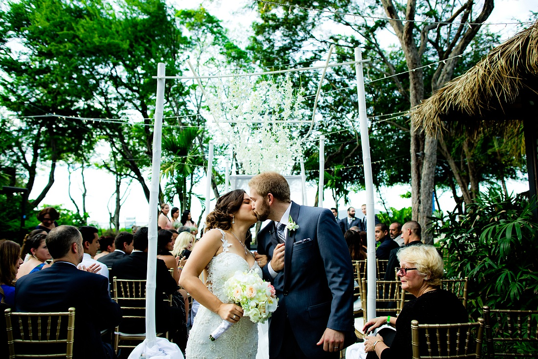 Tamarindo wedding ceremony