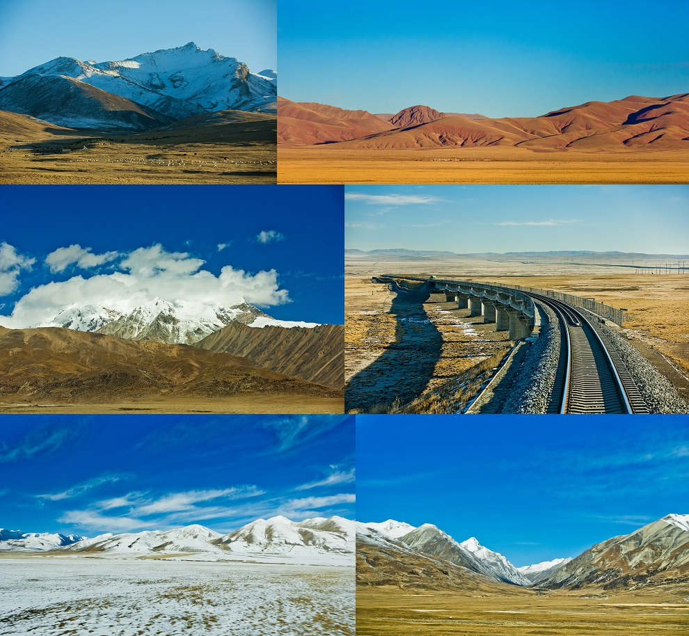 travel blog to Tibet train experince