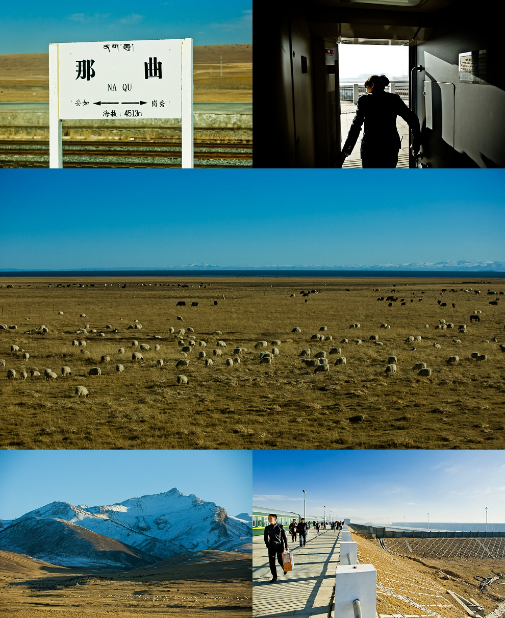 Xining to Lhasa Tibet train pictures