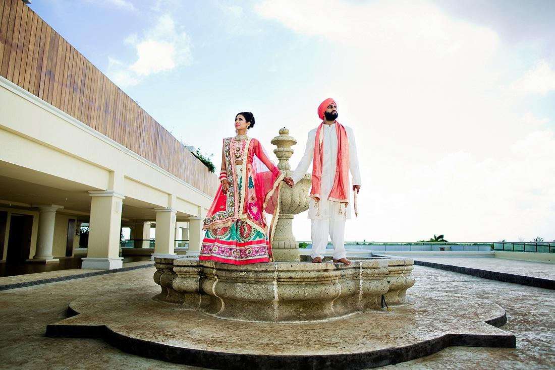 destination wedding Moon Palace Golf and Spa resort