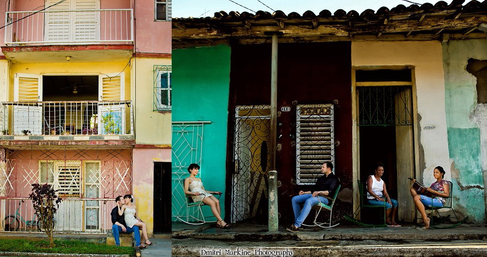 engagement session in Cuba by celebrity photographer