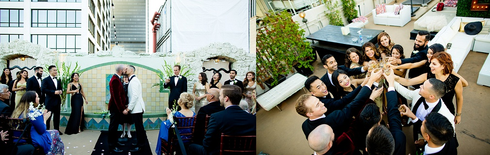 gay wedding Oviatt Penthouse
