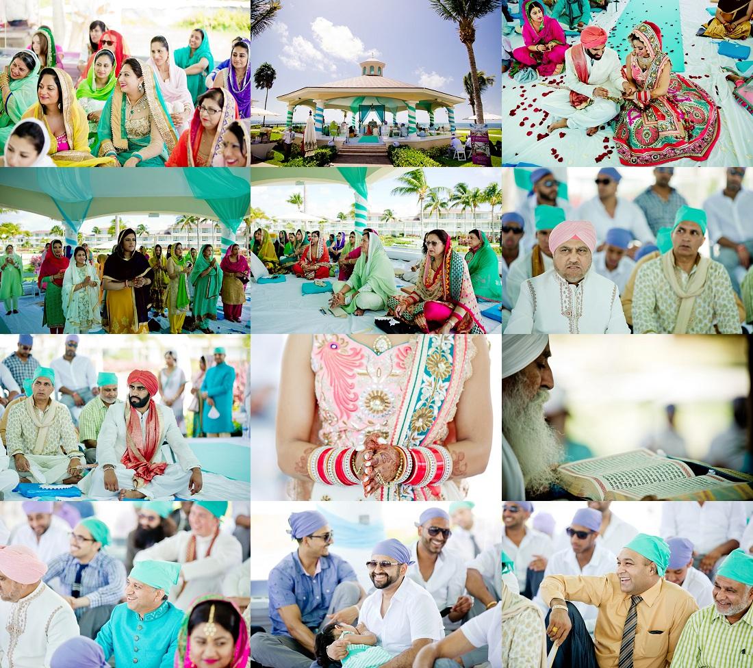 Indian wedding Atlantis resort Bahamas