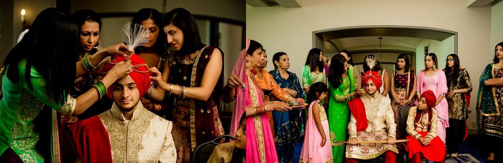 Indian wedding in Banff