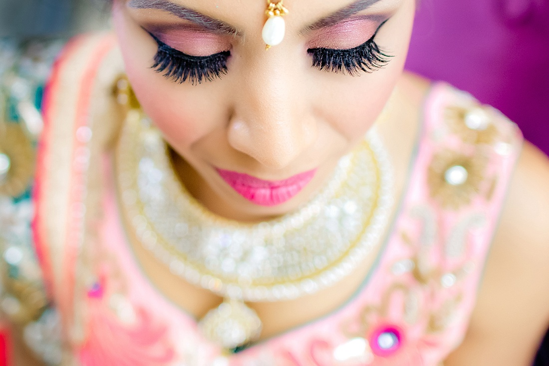 Indian wedding make up in Mexico