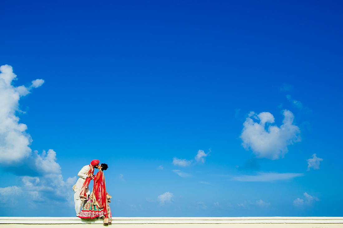Indian wedding at Moon Palace resort, Mexico
