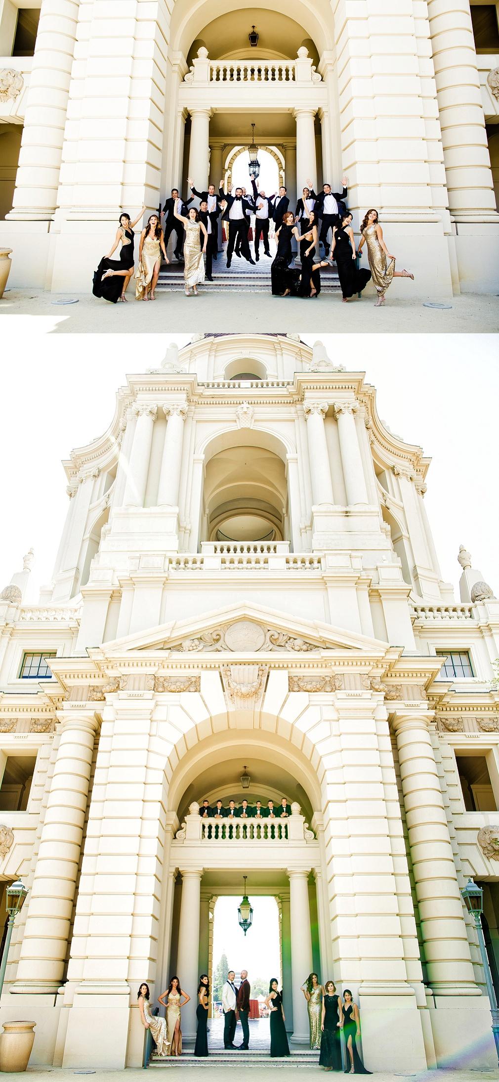 Pasadena city hall wedding