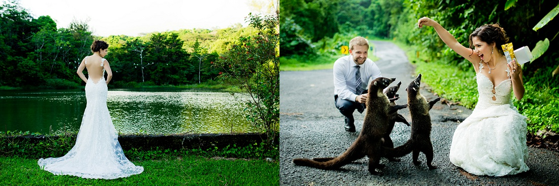 pictures with animals in costa rica