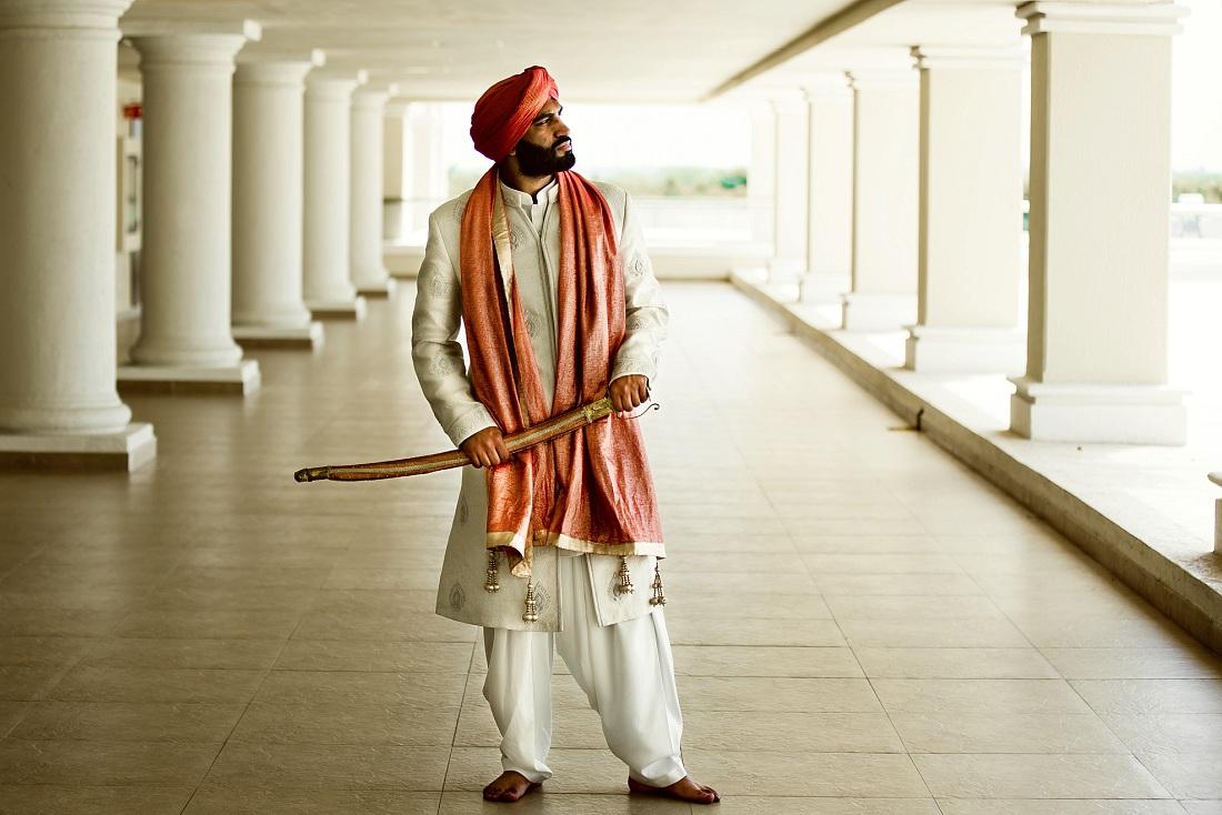 Sikh destination wedding