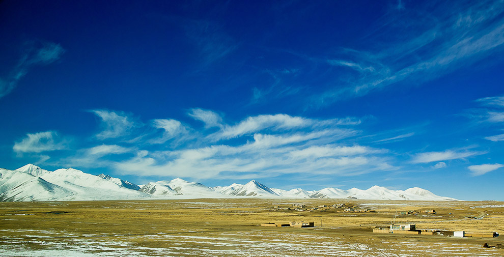 tibet train ride cabin view pictures
