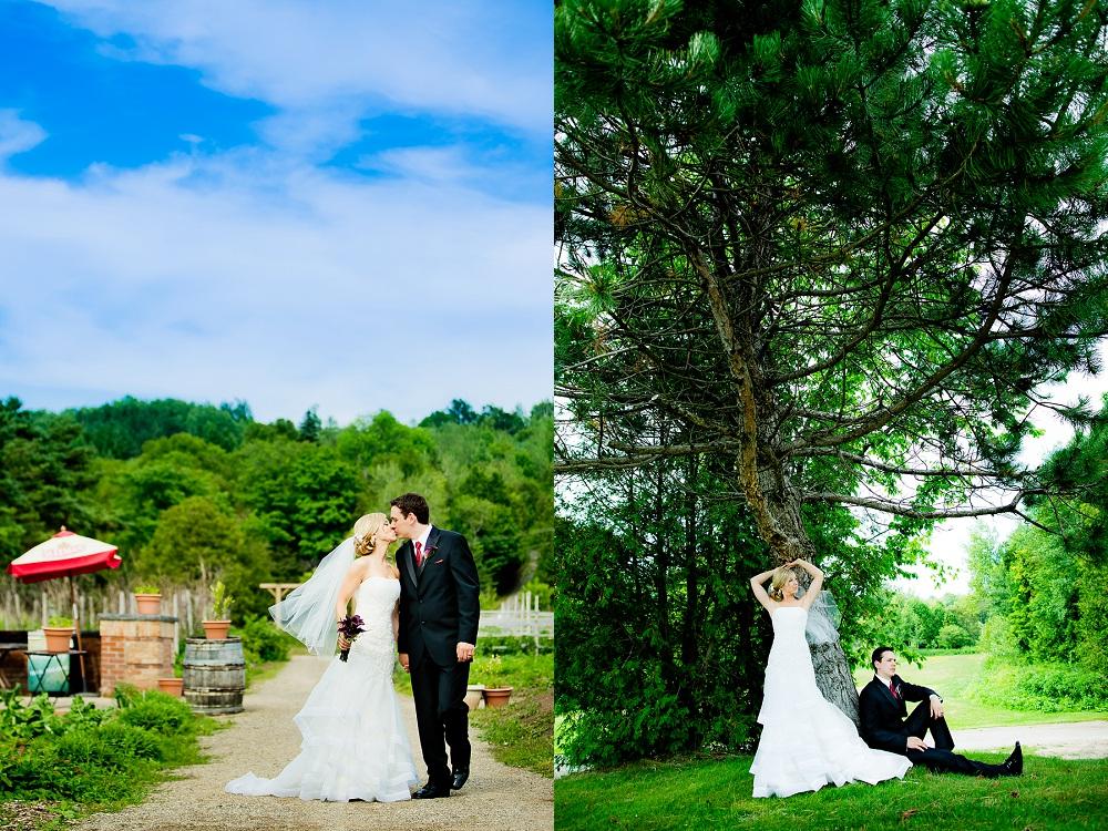 wedding at ski resort