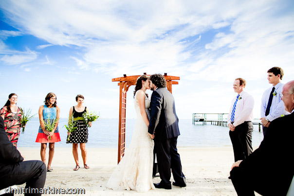 beach destination wedding Florida ceremony