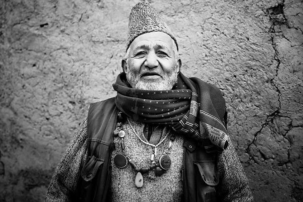 Afghanistan village elder portrait