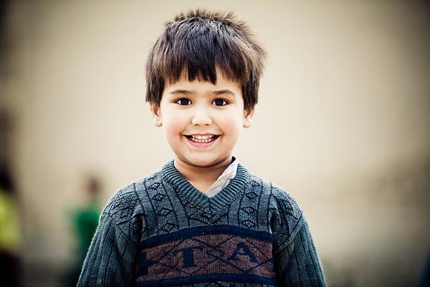 Afghanistan kids portraits